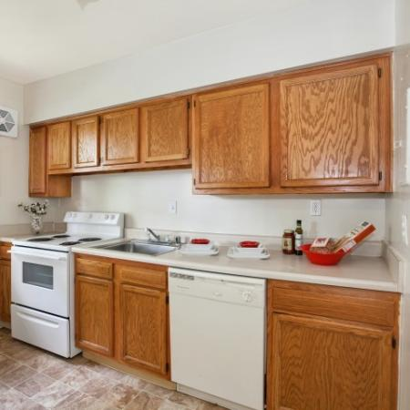 Luxurious Kitchen | Baltimore Maryland Apartments for Rent | Greens at Forest Park