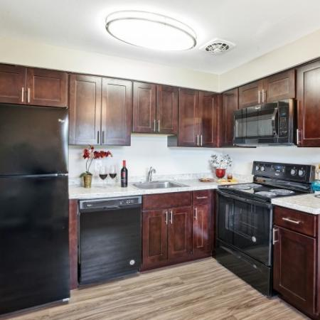 Newly Renovated Kitchens| Apartments For Rent In Burlington | Orchard Park