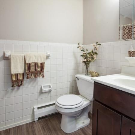 Newly Renovated Bathrooms| Apartments For Rent In Burlington | Orchard Park