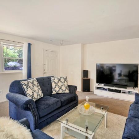 Spacious Living Area | Apartments In Burlington | Burlington Pointe