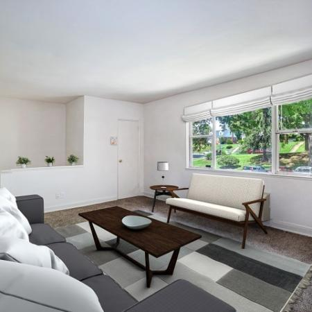Elegant Living Room | Baltimore Apartments | Greens at Forest Park