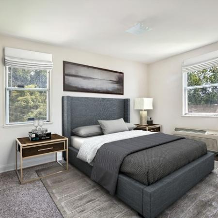 Spacious Master Bedroom | Baltimore Maryland Apartments | Greens at Forest Park
