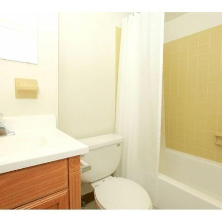 Elegant Bathroom | Townhomes For Rent In Bethlehem PA | River Pointe