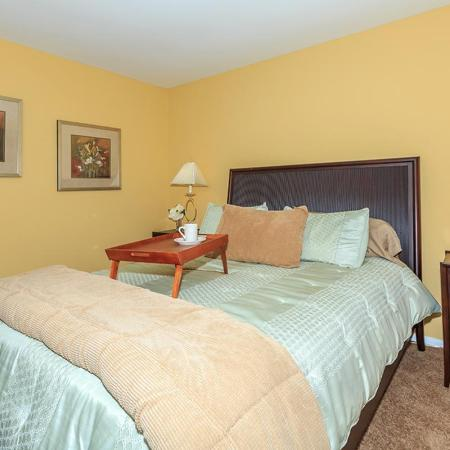 Spacious Bedroom | Pet Friendly Apartments In Bethlehem PA | River Pointe