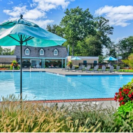 Apartments In Bensalem Pa | Resort Style Pool | Franklin Commons