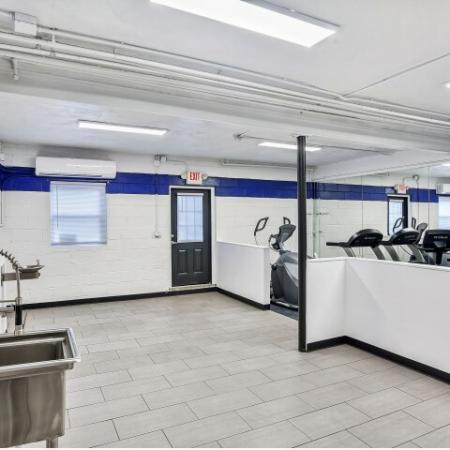 Resident Fitness Center | Apartment Homes In Belleville | Joralemon Street