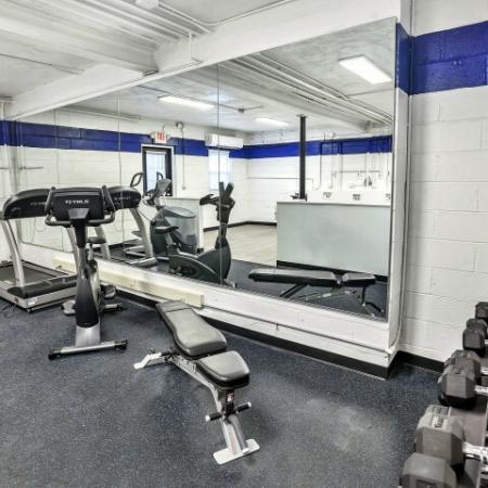On-site Fitness Center | Belleville Apartments | Joralemon Street