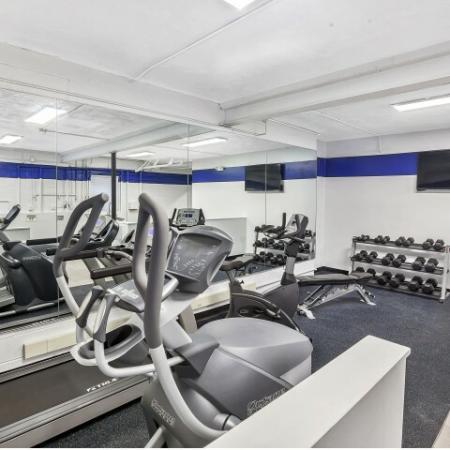 Community Fitness Center | Apartments in Belleville | Joralemon Street