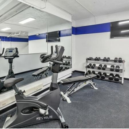 24-hour Fitness Center | Belleville New Jersey Apartments for Rent | Joralemon Street