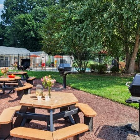 Community BBQ Grills | Apartments In Allentown PA | Lehigh Square