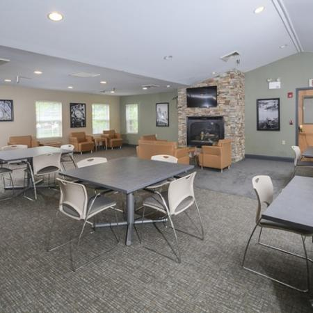 Resident Study Lounge | Apartments Near Downtown Pittsburgh | The Alden