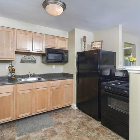 Modern Kitchen | Apartments Near Downtown Pittsburgh PA | The Alden