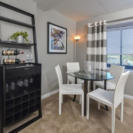 Luxurious Dining Room   Cherry Hill Apartments   Cherry Hill Towers