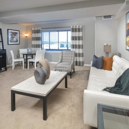 Elegant Living Room   Apartments In Cherry Hill NJ   Cherry Hill Towers