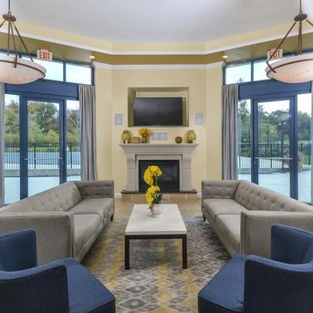 Elegant Community Club House   Cherry Hill Apartments   Cherry Hill Towers