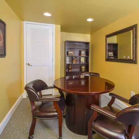 Resident Business Center   Cherry Hill Luxury Apartments   Cherry Hill Towers