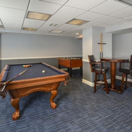 Resident Game Room   Luxury Apartments In Cherry Hill NJ   Cherry Hill Towers