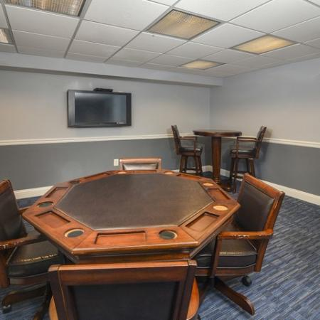 Community Game Room   Apartments In Cherry Hill NJ   Cherry Hill Towers