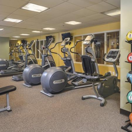 State-of-the-Art Fitness Center   Cherry Hill Apartments   Cherry Hill Towers