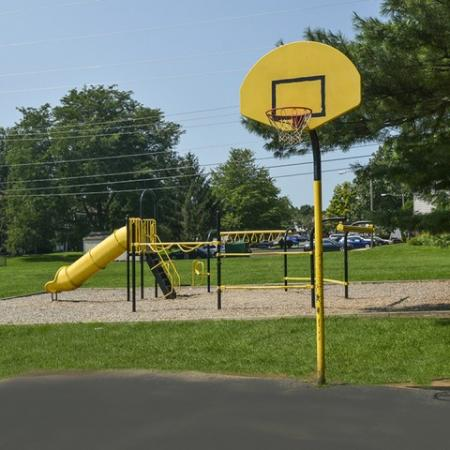 Playground and Basketball Court | River Pointe