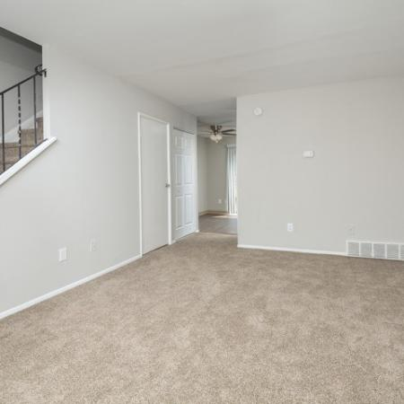 Spacious Living Room | Townhomes For Rent In Bethlehem PA | River Pointe