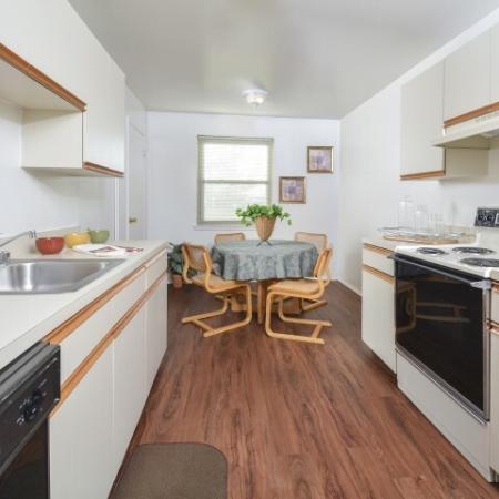 Spacious Kitchen | York PA Apartments | Greenspring Apartment Homes