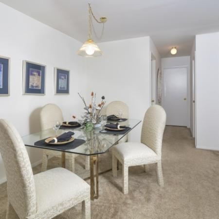 Spacious Dining Room | Apartments In York PA | Greenspring Apartment Homes