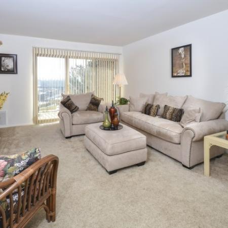 Spacious Living Room | Apartments In York PA | Greenspring Apartment Homes