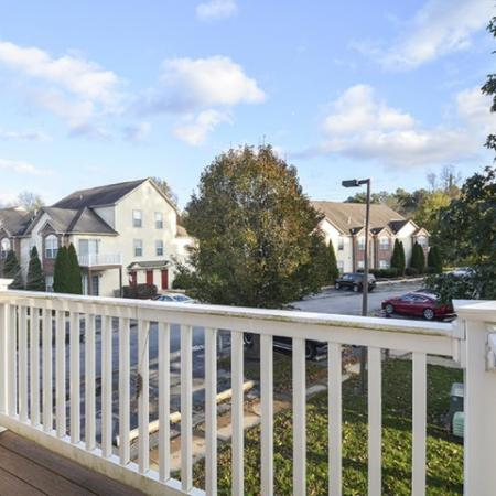 Spacious Apartment Balcony | Apartments For Rent In Elkton MD | The Apartments at Iron Ridge