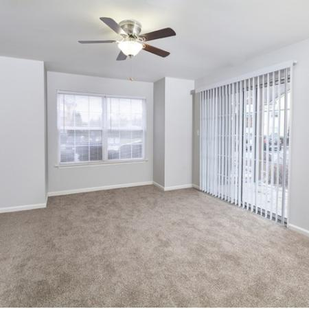 Spacious Living Room | Elkton MD Apartments | The Apartments at Iron Ridge