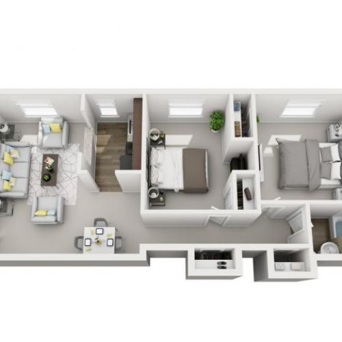 Alden Apartments: 2 Bed / 1 Bath Apartment In Pittsburgh PA