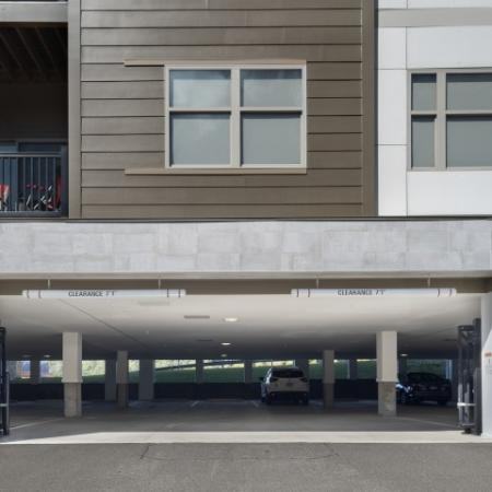 North Hills Cosmopolitan Apartments Underground Parking Lot