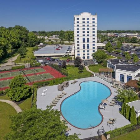 Resort Style Pool   Apartments in Cherry Hill, NJ   Cherry Hill Towers