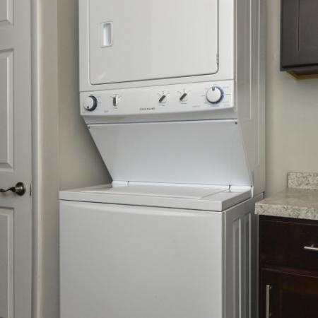 Washer/Dryer in Select Apartments