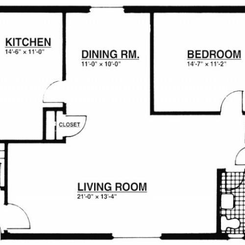 1 Bedroom Apartments | Summit NJ