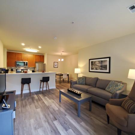 Open Contemporary Layout with Breakfast Bar