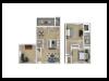 2 Bedroom with Den 1.5 Baths