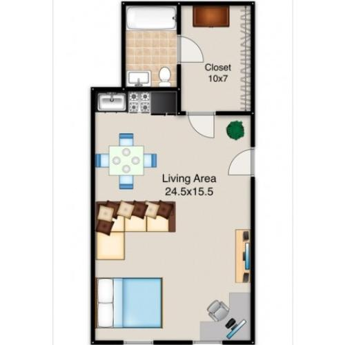 Diverse Floor Plans | Indianapolis Apartments | Fountain Lake Villas