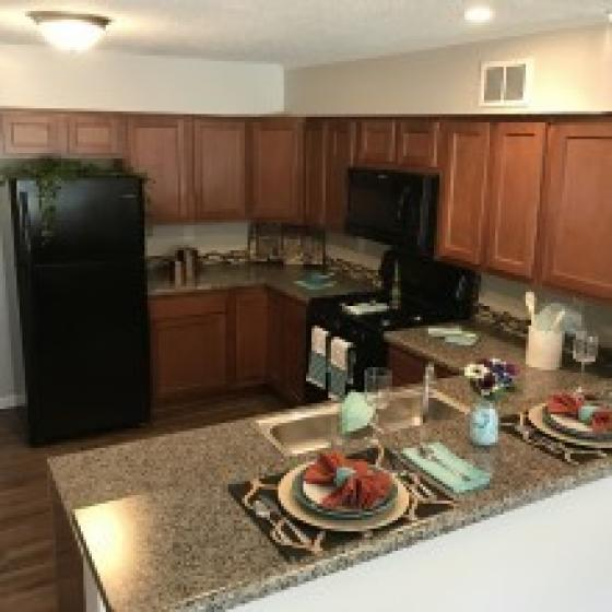 State-of-the-Art Kitchen | Apartments For Rent In Indianapolis In | Fountain Lake Villas 2
