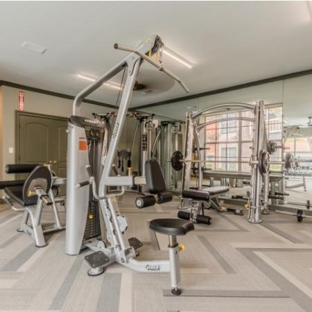 State-of-the-Art Gym Equipment