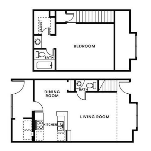 1 Bed / 1 Bath Apartment In Houston TX
