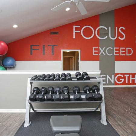Cutting Edge Fitness Center | Apartments Homes for rent in Dallas, TX | Summerwood Cove