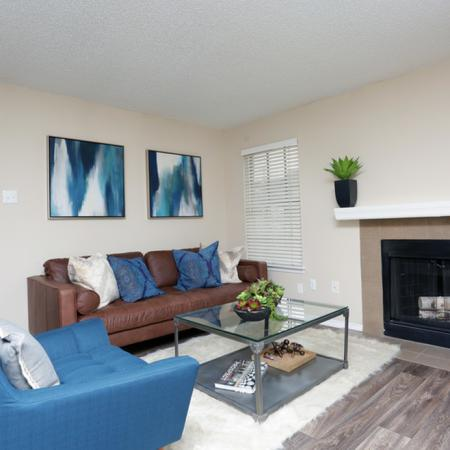 Spacious Living Room | Apartments in Garland, TX | Creekside on the Green