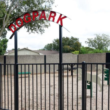 Community Bark Park | Apartment in Garland, TX | Creekside on the Green