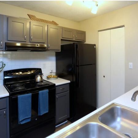 State-of-the-Art Kitchen | Greensboro NC Apartment Homes | Park at Oak Ridge