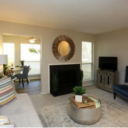 Elegant Living Room | Apartments for rent in Greensboro, NC | Park at Oak Ridge