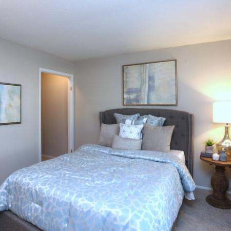 Spacious Bedroom | Greensboro NC Apartment Homes | Park at Oak Ridge