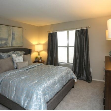 Elegant Bedroom | Greensboro NC Apartment For Rent | Park at Oak Ridge