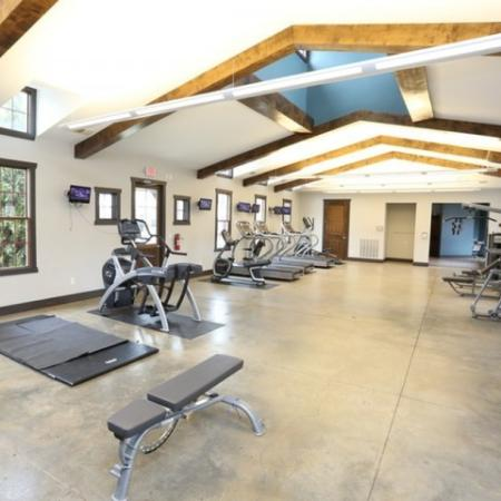 Resident Fitness Center | Apartments Georgetown, KY | The Mill at Georgetown