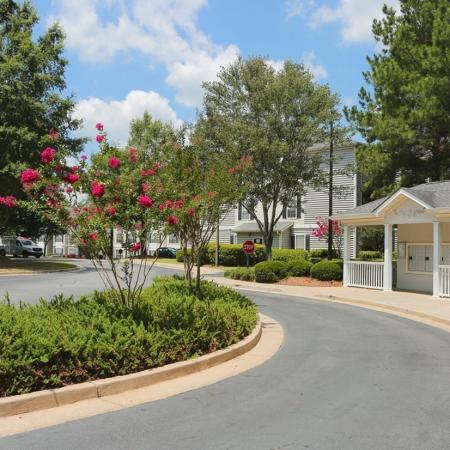 Beautifully Landscaped Grounds | Conyers Ga Apartments | Lake St. James